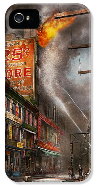 Fireman - New York Ny - Show Me A Sign 1916 IPhone 5 Case