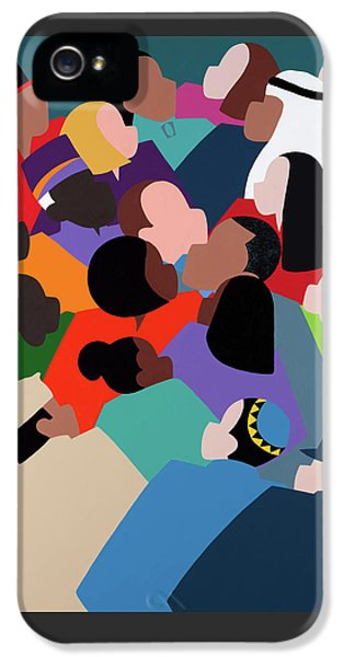 iPhone 5 Case - First Family The Obamas by Synthia SAINT JAMES