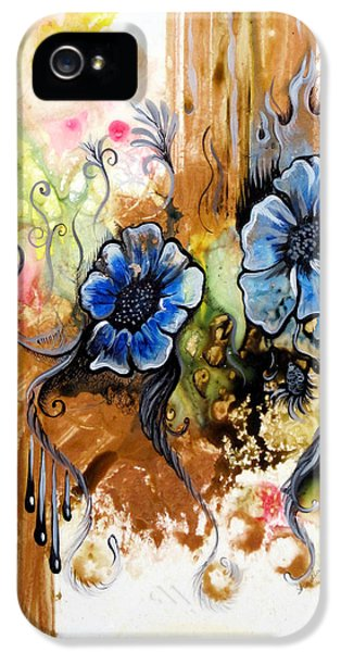 First Light In The Garden Of Eden II IPhone 5 Case by Shadia Derbyshire