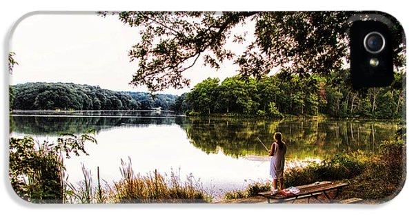 Fishing At Argyle Lake IPhone 5 Case