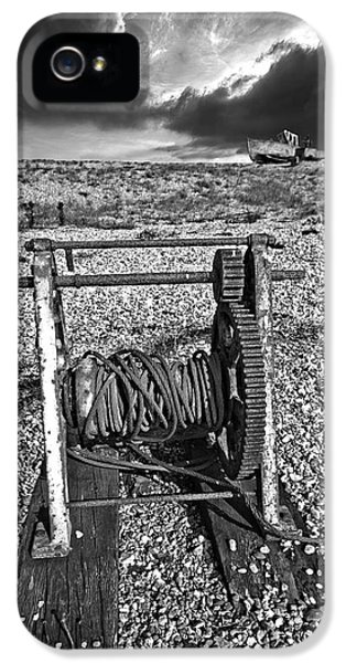 Fishing Boat Graveyard 8 IPhone 5 Case by Meirion Matthias