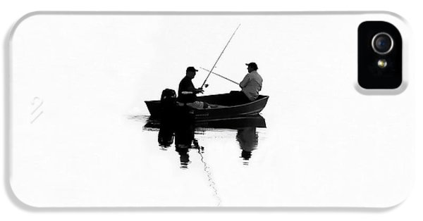 Fishing Buddies IPhone 5 / 5s Case by David Lee Thompson