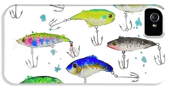 Fishing Is Fly No3 IPhone 5 Case by Roleen  Senic