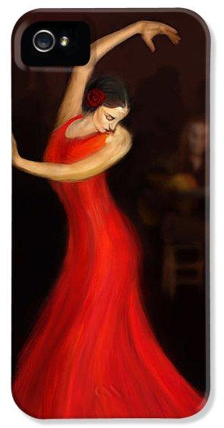 Flamenco Dancer IPhone 5 Case