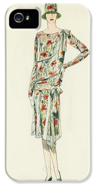 Flapper In An Afternoon Dress IPhone 5 / 5s Case by American School