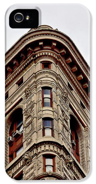 Flatiron Building Detail IPhone 5 Case by Sandy Taylor