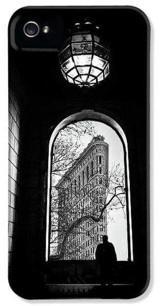 IPhone 5 Case featuring the photograph Flatiron Perspective by Jessica Jenney