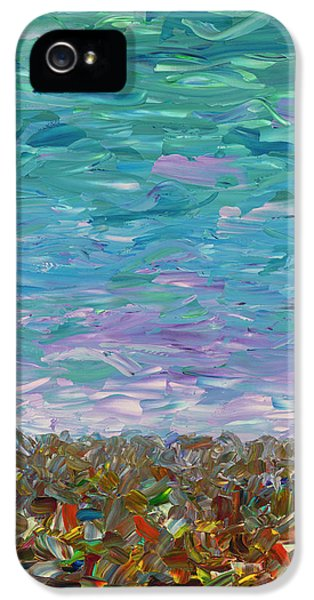 Flatland - Cloudy Day IPhone 5 Case by James W Johnson