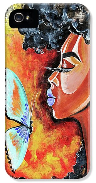 iPhone 5 Case - Flawed by Artist RiA
