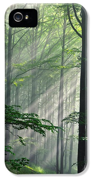 Fleeting Beams IPhone 5 Case