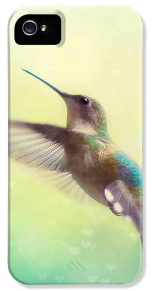 Flight Of Fancy - Square Version IPhone 5 Case by Amy Tyler
