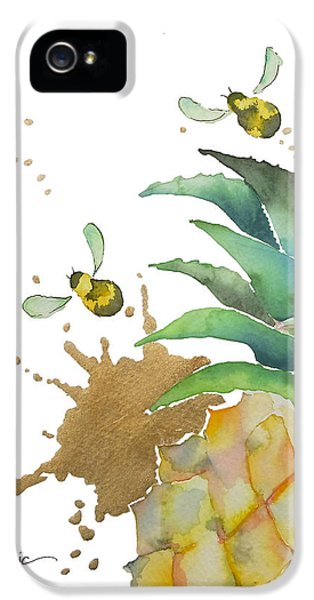 Flight Of The Bumblebee No19 IPhone 5 Case by Roleen Senic