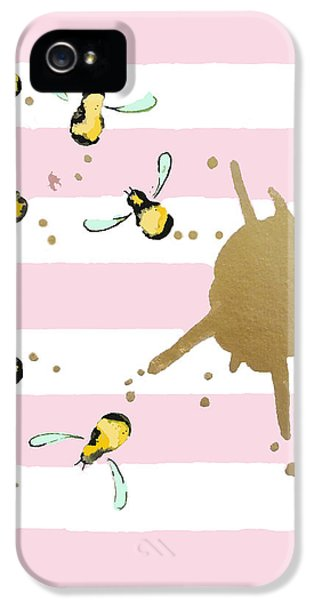 Flight Of The Bumblebeee No 21 IPhone 5 Case by Roleen Senic