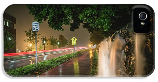 University Of Arkansas iPhone 5 Case - Flooding by Patrick Weldon