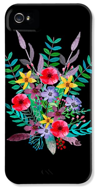 Flowers iPhone 5 Case - Just Flora by Amanda Lakey