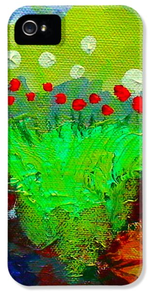 Flower Buds Detail From The Fairy Queen IPhone 5 Case by Angela Annas