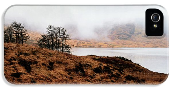 Foggy Day At Loch Arklet IPhone 5 Case by Jeremy Lavender Photography