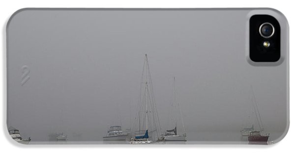 IPhone 5 Case featuring the photograph Waiting Out The Fog by David Chandler