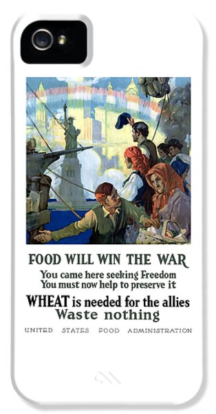 Food Will Win The War IPhone 5 Case