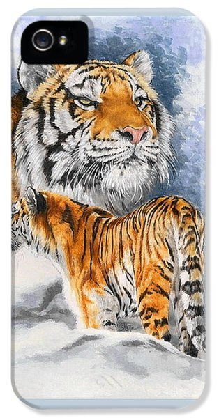 Forceful IPhone 5 / 5s Case by Barbara Keith