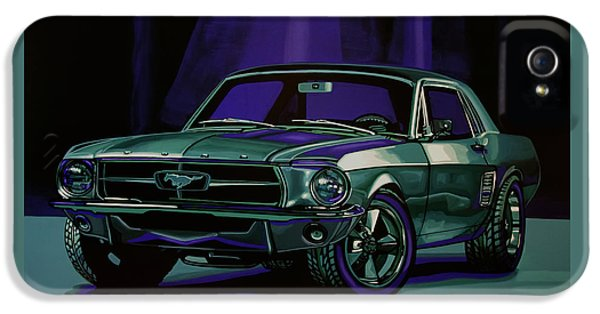 Ford Mustang 1967 Painting IPhone 5 Case