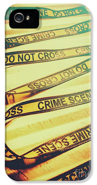 Forensic Csi Lab Details IPhone 5 Case by Jorgo Photography - Wall Art Gallery