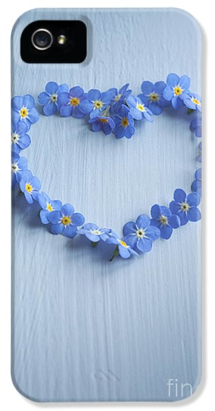 Forget Me Not Heart IPhone 5 Case