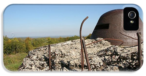 Fort De Douaumont - Verdun IPhone 5 Case by Travel Pics