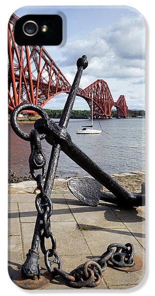 IPhone 5 Case featuring the photograph Forth Bridge by Jeremy Lavender Photography