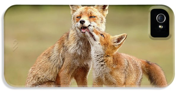 Foxy Love Series - Love You, Mom IPhone 5 Case