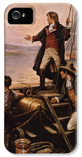 Francis Scott Key - Star Spangled Banner IPhone 5 Case by War Is Hell Store