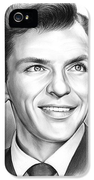 Frank Sinatra IPhone 5 Case by Greg Joens