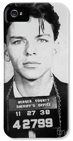 Frank Sinatra Mugshot IPhone 5 Case