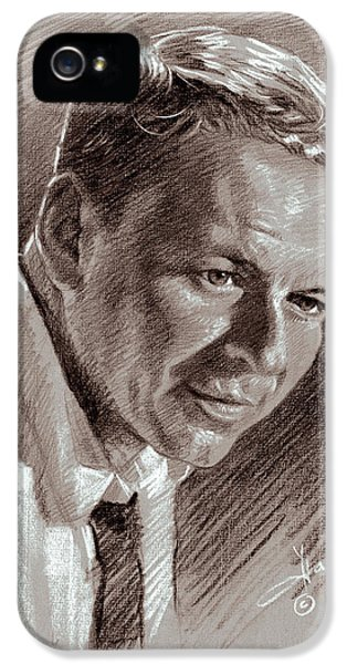Frank Sinatra iPhone 5 Case - Frank Sinatra  by Ylli Haruni