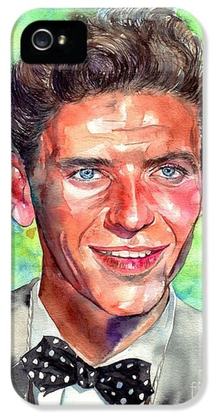 Frank Sinatra iPhone 5 Case - Frank Sinatra Young Painting by Suzann's Art