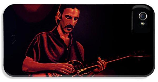 Frank Zappa 2 IPhone 5 Case by Paul Meijering