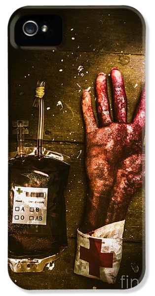 Frankenstein Transplant Experiment IPhone 5 Case by Jorgo Photography - Wall Art Gallery