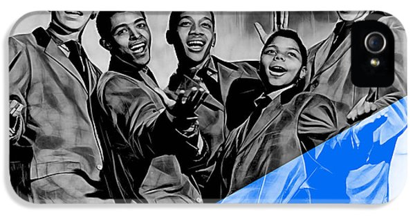 Frankie Lymon And The Teenagers IPhone 5 / 5s Case by Marvin Blaine