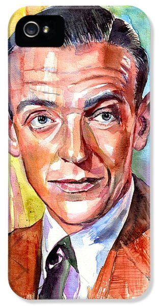 Nebraska iPhone 5 Case - Fred Astaire Painting by Suzann Sines