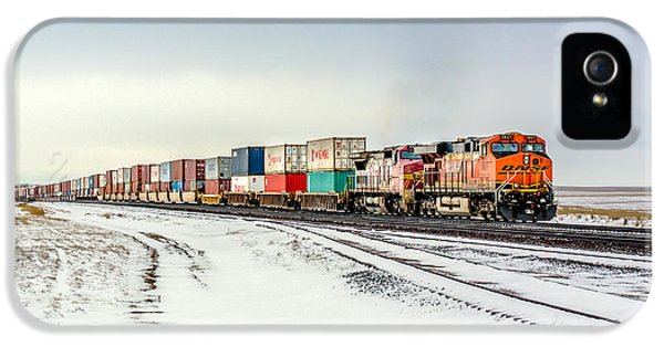 Train iPhone 5 Case - Freight Train by Todd Klassy