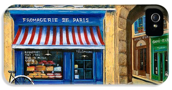French Cheese Shop IPhone 5 Case