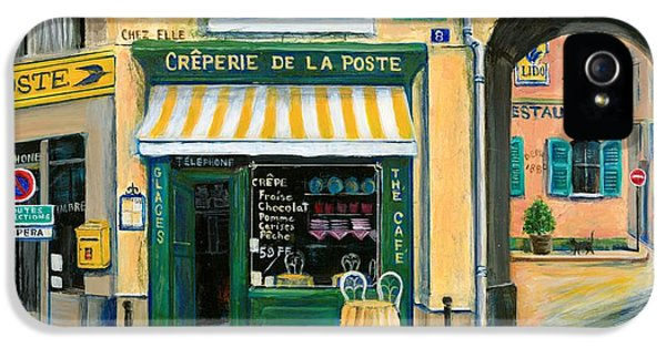 French Creperie IPhone 5 Case by Marilyn Dunlap