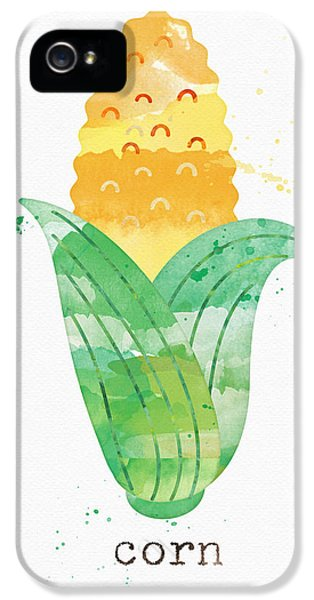 Rural Scenes iPhone 5 Case - Fresh Corn by Linda Woods