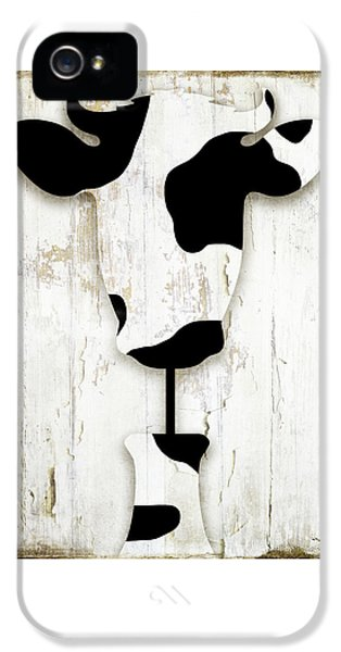 Cow iPhone 5 Case - Fresh Dairy by Mindy Sommers