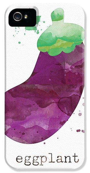 Truck iPhone 5 Case - Fresh Eggplant by Linda Woods