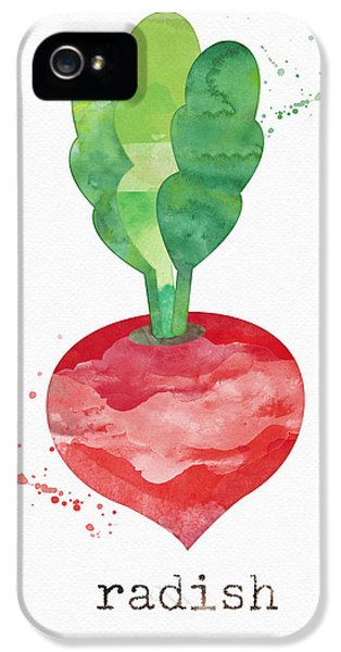 Rural Scenes iPhone 5 Case - Fresh Radish by Linda Woods