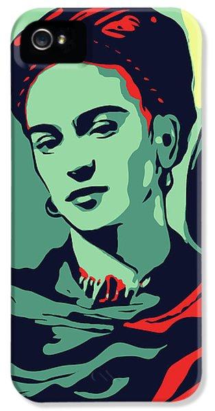 Folk Art iPhone 5 Case - Frida Kahlo by Greatom London
