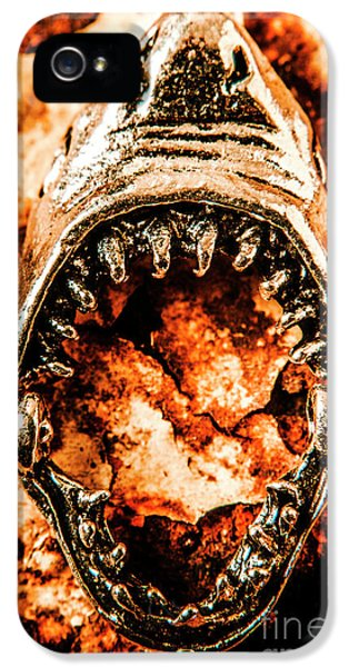 Frightening Marine Scene IPhone 5 Case by Jorgo Photography - Wall Art Gallery
