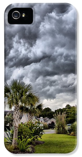 Frontal Clouds IPhone 5 Case by Dustin K Ryan