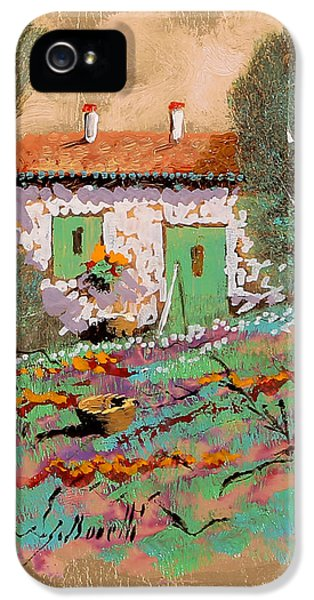 Frontale IPhone 5 Case by Guido Borelli